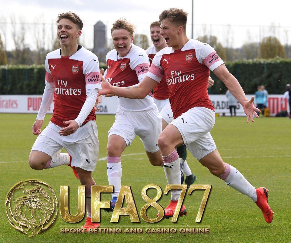 อาร์เซนอล U18s ชนะท็อตแนม 3-2